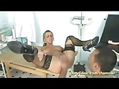 busty Milf visit our dirty clinic