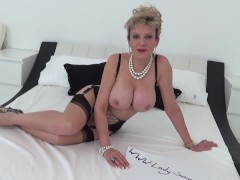 Lady Sonia Role Plays With Dildo|1::Big Tits,20::MILF,26::Blonde,30::POV,38::HD,2331::Toys