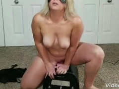 Multiple orgasm and  a big squirt on my motorbunny.|6::Amateur,20::MILF,23::Squirting,25::Masturbation,26::Blonde,38::HD,46::Verified Amateurs