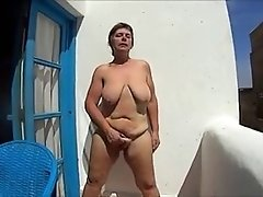balkonmasturbation