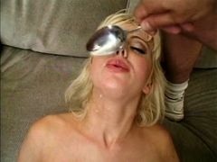 Amateur wife homemade anal and blowjob with facial cumshot