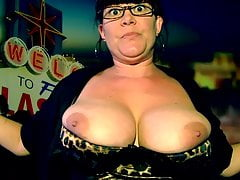 Hot Milf Bouncing her Massive Tits JOI