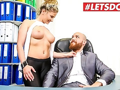 LETSDOEIT - My Busty Secretary is Secretly a Super Horny MILF