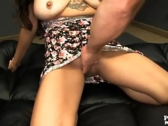 Asian Babe fuck 5 random guys in a train fuck