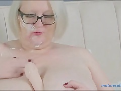 having fun with my dildo