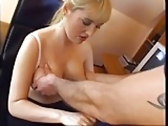 Milf gets a load in her mouth