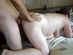 Large couple fucks