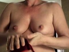 Small Tit Granny Loves to Fuck