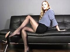Dangling Regression - Mesmerizing Pantyhose Domination Star Nine Full Video