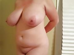 Handcuffed and big titties