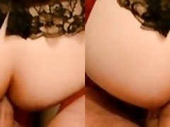 Mature couple anal sex 1