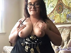 BBW & Clit Sucker: Smoking and trying new toy, just goofing around.|1::Big Tits,6::Amateur,20::MILF,25::Masturbation,38::HD,46::Verified Amateurs,