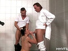 Busty German Mature visits Doctor Cock