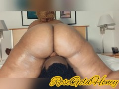 'THICK EBONY QUEEN TWERKING ON MY FACE WITH A WAP - RoseGoldHoney'