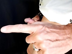 'Truly Smoking Blowjob for Big Dick Biker and Swallows'