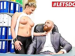 LETSDOEIT - My Busty Secretary is Secretly a Super Horny MILF