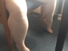 Hotel chair pee
