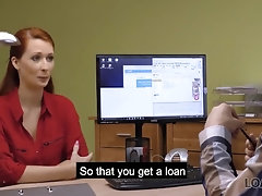 'LOAN4K Charmer didnt expect the banker to ask her to get fully naked'