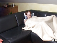 German Step-Son Wake Up MILF Mom and fuck her