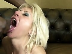 Blonde matures facials cum swallow interracial sex