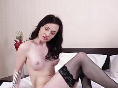 Eva Green toying her mature vagina