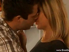 Blonde MILF Loving Her Man And Being Romantic