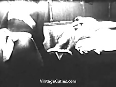 Hairy Pussy Surprise Right at Home (1950s Vintage)