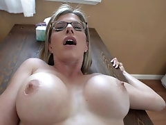 Cheating Step Mom Craves Her Step Sons Huge Cock - Cory Chase