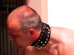 Man tied up and his ass fucked with a toy by his mistress