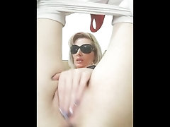 GIRL MASTURFATION WITH DILDO AND FINGERS
