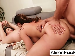 Threesome of sexual energy and lots of fucking|1::Big Tits,12::Cumshot,19::Facials,20::MILF,38::HD,57::Brunette,2211::Threesome